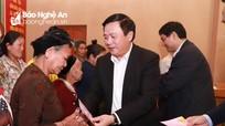 Bí thư Trung ương Đảng Nguyễn Xuân Thắng chúc Tết huyện vùng biên tại Nghệ An