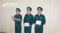 Nghệ An: Công bố quyết định của Bộ Quốc phòng, Bộ Tư lệnh BĐBP về bổ nhiệm, điều động cán bộ