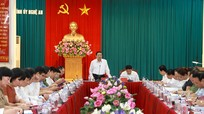 Đồng chí Phan Đình Trạc: Nghệ An tiếp tục góp ý, đề xuất với Trung ương về công tác xây dựng Đảng