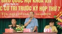 Phó trưởng Đoàn ĐBQH Nghệ An đề nghị người dân đồng hành chống 'tham nhũng vặt'