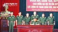 Bộ CHQS Nghệ An phát động đợt thi đua chào mừng Đại hội Thi đua Quyết thắng Quân khu 4