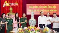 Quân khu 4 và Bộ Tư lệnh Thủ đô đẩy mạnh trao đổi kinh nghiệm, hỗ trợ lẫn nhau