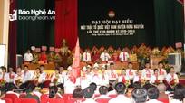 Đồng chí Thái Thị Hải Châu tái đắc cử Chủ tịch MTTQ huyện Hưng Nguyên