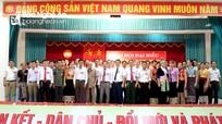 Hiệp thương cử Chủ tịch Ủy ban MTTQ huyện Kỳ Sơn, Đô Lương, Con Cuông