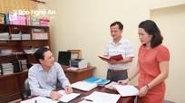 Các ban xây dựng Đảng, Văn phòng Tỉnh ủy Nghệ An hoàn thành sắp xếp bộ máy