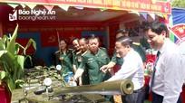 Bí thư Tỉnh ủy Nghệ An, Hà Tĩnh dự Đại hội Thi đua quyết thắng lực lượng vũ trang Quân khu 4