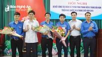 Bầu bổ sung 2 Phó Bí thư Đoàn Khối Các cơ quan tỉnh Nghệ An