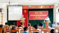 60 thí sinh tranh tài 'báo cáo viên giỏi' huyện Nghi Lộc