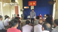 Phó Trưởng ban Thường trực Ban Tuyên giáo Tỉnh ủy dự sinh hoạt chi bộ tại Nghĩa Đàn