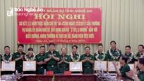 Đảng ủy Quân sự Nghệ An khen thưởng 13 bí thư chi bộ, đảng viên về xây dựng chi bộ '3 tốt, 3 không'