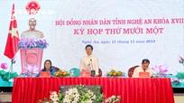 Khai mạc kỳ họp thứ 11 Hội đồng nhân dân tỉnh Nghệ An