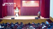 Đại hội Đảng bộ TP Vinh nhiệm kỳ 2020 - 2025 sẽ hoàn thành trước 31/8/2020