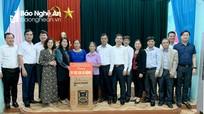 Cán bộ quy hoạch Ủy viên BCH Đảng bộ tỉnh nghiên cứu thực tế tại huyện Nghi Lộc