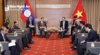 Ủy ban Trung ương Mặt trận Việt Nam và Lào tăng cường hợp tác, chia sẻ kinh nghiệm