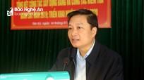 Phó Chủ tịch UBND tỉnh Lê Hồng Vinh đề nghị Tân Kỳ đẩy mạnh cơ cấu lại ngành nông nghiệp