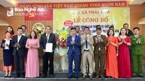 Hai đơn vị hành chính cấp xã đầu tiên ở Nghệ An chính thức công bố sáp nhập