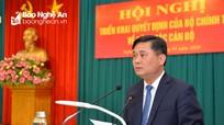 Phát biểu nhậm chức của tân Bí thư Tỉnh ủy Nghệ An Thái Thanh Quý