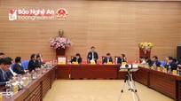 UBND tỉnh thảo luận dự thảo báo cáo kinh tế - xã hội chuẩn bị Đại hội Đảng bộ tỉnh khóa XIX