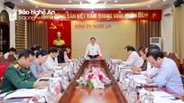 Ban Thường vụ Tỉnh ủy Nghệ An cho ý kiến dự thảo lần 1 báo cáo chính trị trình Đại hội Đảng bộ tỉnh