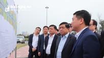 Bộ trưởng Bộ Kế hoạch và Đầu tư khảo sát 3 dự án giao thông trọng điểm ở Nghệ An