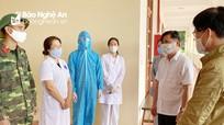 Bí thư Tỉnh ủy Thái Thanh Quý kiểm tra công tác phòng, chống dịch Covid -19