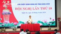 BCH Đảng bộ tỉnh Nghệ An thảo luận Báo cáo chính trị trình Đại hội Đảng bộ tỉnh khóa XIX