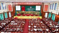 Đại hội điểm Đảng bộ cấp trên cơ sở đầu tiên của tỉnh Nghệ An thành công tốt đẹp