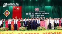 Danh sách Ban Chấp hành Đảng bộ, Ban Thường vụ Huyện ủy Yên Thành, nhiệm kỳ 2020 -2025