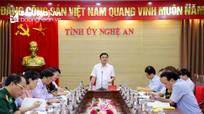Ban Thường vụ Tỉnh ủy Nghệ An duyệt Đại hội Đảng bộ Bộ đội Biên phòng tỉnh