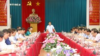 Ban Thường vụ Tỉnh ủy duyệt Đại hội Đảng bộ Trường Đại học Vinh nhiệm kỳ 2020 - 2025