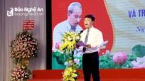 Chủ tịch UBND tỉnh: Báo chí Nghệ An không ngừng lớn mạnh, đồng hành cùng sự phát triển của tỉnh