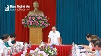 Ban Thường vụ Tỉnh ủy duyệt nội dung, nhân sự Đại hội đại biểu Đảng bộ huyện Diễn Châu