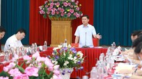 Ban Thường vụ Tỉnh ủy duyệt nội dung, nhân sự Đại hội đại biểu Đảng bộ thành phố Vinh