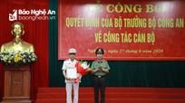 Đại tá Võ Trọng Hải được điều động giữ chức vụ Giám đốc Công an Nghệ An