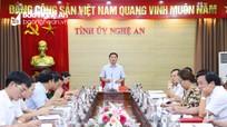 Ban Thường vụ Tỉnh ủy Nghệ An duyệt Đại hội đại biểu Đảng bộ Khối CCQ tỉnh lần thứ XX