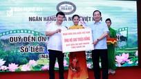Ngành Ngân hàng hỗ trợ 21 tỷ đồng xây dựng 300 nhà tình nghĩa ở Nghệ An
