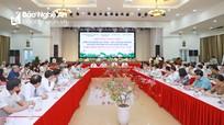 Phó Thủ tướng Phạm Bình Minh dự Hội thảo khoa học về đồng chí Nguyễn Duy Trinh tại Nghệ An