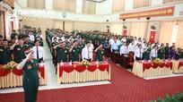 Khai mạc Đại hội đại biểu Đảng bộ Quân sự tỉnh Nghệ An lần thứ XIII, nhiệm kỳ 2020 - 2025