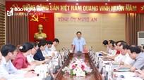Ban Thường vụ Tỉnh ủy duyệt Đại hội đại biểu Đảng bộ Khối Doanh nghiệp tỉnh, nhiệm kỳ 2020 - 2025