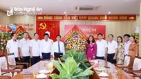 Bí thư Tỉnh ủy Nghệ An chúc mừng ngày truyền thống ngành Tuyên giáo của Đảng