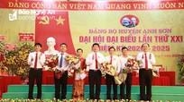 Bế mạc Đại hội đại biểu Đảng bộ huyện Anh Sơn lần thứ XXI, nhiệm kỳ 2020 - 2025