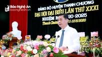 Xây dựng Thanh Chương trở thành huyện khá của tỉnh Nghệ An