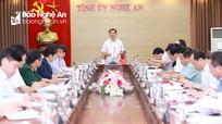 Ban Thường vụ Tỉnh ủy cho ý kiến các dự thảo Văn kiện Đại hội Đảng bộ tỉnh để trình Bộ Chính trị