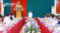 Ban Thường vụ Tỉnh ủy duyệt Đại hội đại biểu Đảng bộ thị xã Hoàng Mai nhiệm kỳ 2020 - 2025