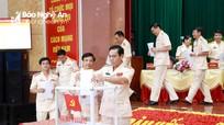 Đại hội đại biểu Đảng bộ Công an tỉnh Nghệ An lần thứ XIV, nhiệm kỳ 2020 - 2025