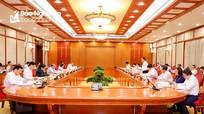 Bộ Chính trị duyệt Đại hội đại biểu Đảng bộ tỉnh Nghệ An lần thứ XIX, nhiệm kỳ 2020 - 2025