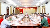 Ban Thường vụ Tỉnh ủy Nghệ An họp phiên thường kỳ tháng 9