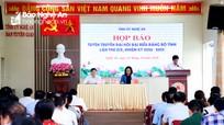 Ban Chấp hành Đảng bộ tỉnh Nghệ An khóa XIX, nhiệm kỳ 2020 -2025 sẽ có 66 ủy viên