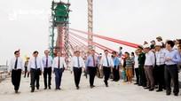 Chính thức hợp long cầu Cửa Hội bắc qua sông Lam nối liền Nghệ An - Hà Tĩnh