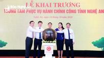 Nghệ An khai trương Trung tâm phục vụ hành chính công